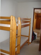 Bunkbeds in the alcove